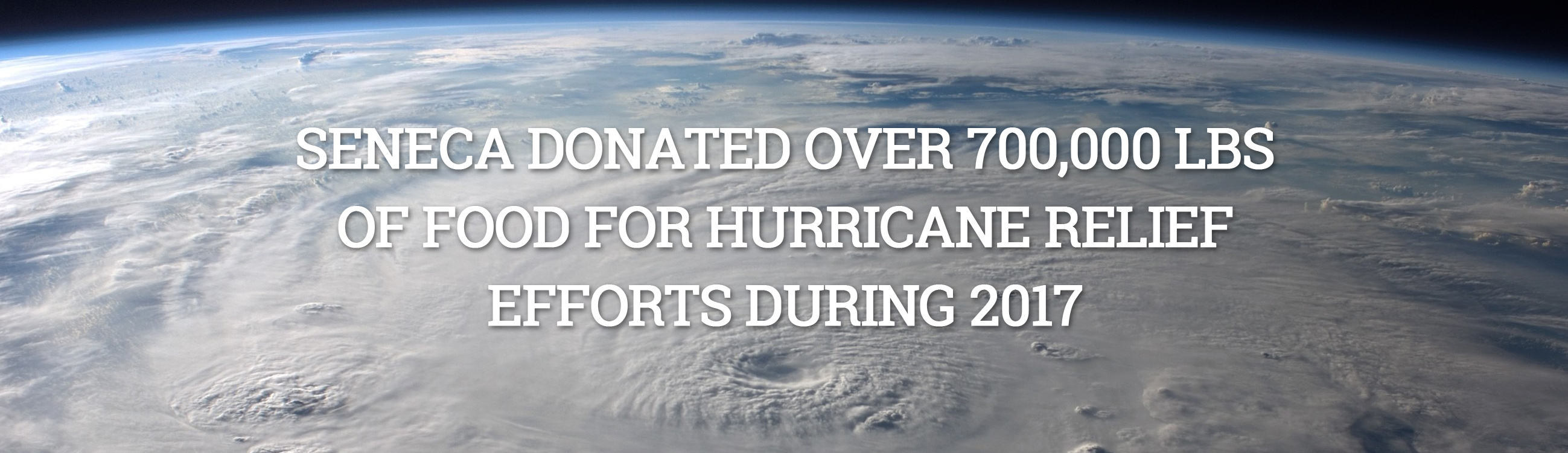 Hurricane Relief 2017